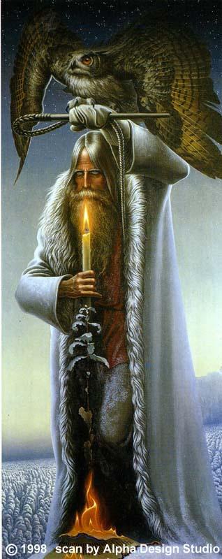 VEDA, спасибо за Константина Васильева.  Очень люблю его картины.  Человек с филином (его последняя картина 1976 г.